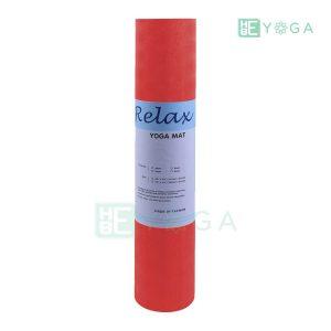 Thảm Yoga TPE Relax Cao su non 6mm 2 lớp màu đỏ 2