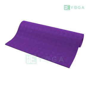 Thảm Yoga TPE Relax Cao su non 6mm 2 lớp màu tím 1