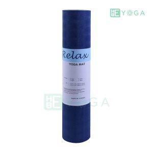 Thảm Yoga TPE Relax Cao su non 6mm 2 lớp màu xanh coban 2