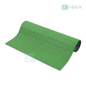 Thảm Yoga TPE Relax Cao su non 6mm 2 lớp màu xanh lá 1
