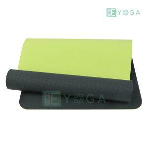 Thảm Yoga TPE Eco Relax màu đen 1