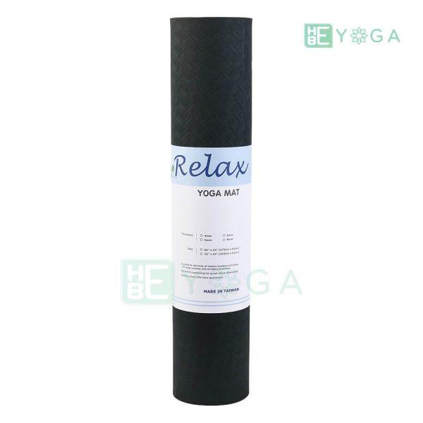 Thảm Yoga TPE Eco Relax màu đen 3