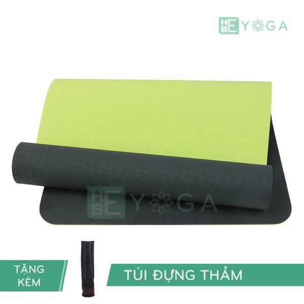 Thảm Yoga TPE Eco Relax màu đen