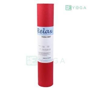Thảm Yoga TPE Eco Relax màu đỏ 3