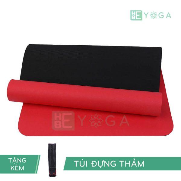 Thảm Yoga TPE Eco Relax màu đỏ