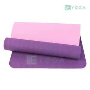 Thảm Yoga TPE Eco Relax màu tím đậm 1
