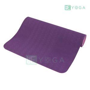 Thảm Yoga TPE Eco Relax màu tím đậm 2