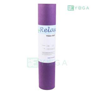 Thảm Yoga TPE Eco Relax màu tím đậm 3