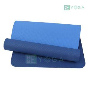 Thảm Yoga TPE Eco Relax màu xanh dương 1