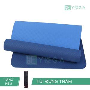 Thảm Yoga TPE Eco Relax màu xanh dương