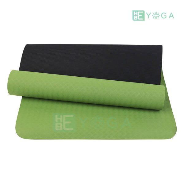 Thảm Yoga TPE Eco Relax màu xanh lá 1