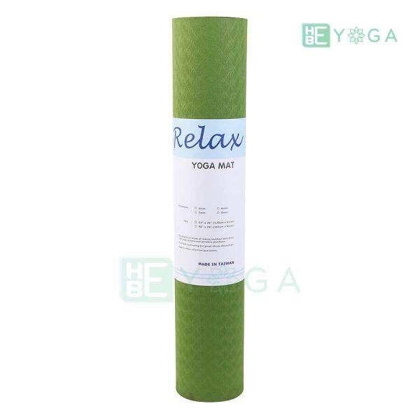 Thảm Yoga TPE Eco Relax màu xanh lá 3