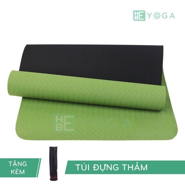 Thảm Yoga TPE Eco Relax màu xanh lá