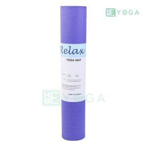 Thảm Yoga TPE Eco Relax màu tím môn 3