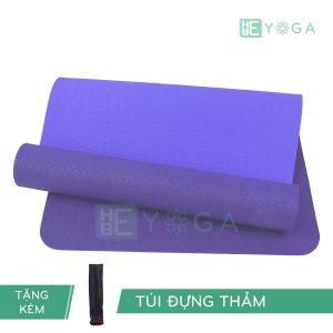 Thảm Yoga TPE Eco Relax màu tím môn