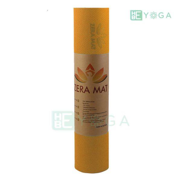 Thảm Yoga TPE ZERA màu cam 2