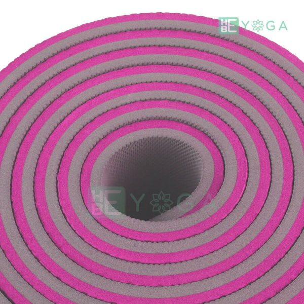 Thảm Yoga TPE ZERA màu hồng 3