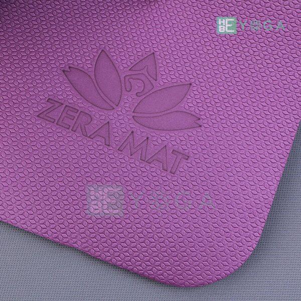 Thảm Yoga TPE ZERA màu tím 4