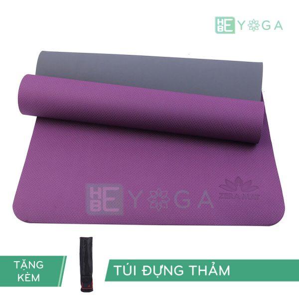 Thảm Yoga TPE ZERA màu tím
