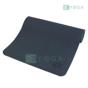 Thảm Yoga TPE ZERA màu xám đen 1