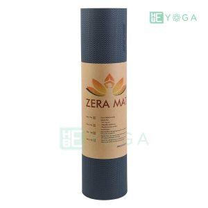 Thảm Yoga TPE ZERA màu xám đen 3