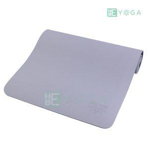 Thảm Yoga TPE ZERA màu xám trắng 1