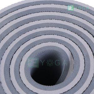 Thảm Yoga TPE ZERA màu xám trắng 2