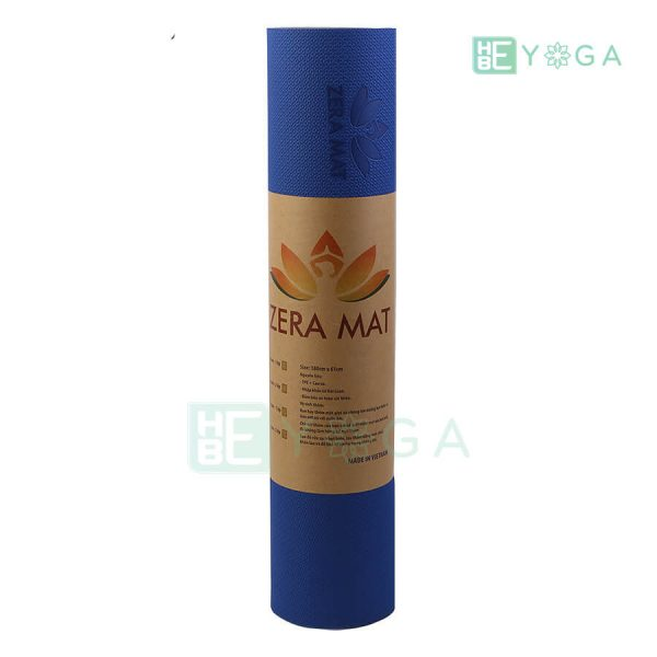 Thảm Yoga TPE ZERA màu xanh dương 2