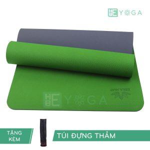 Thảm Yoga TPE ZERA màu xanh lá