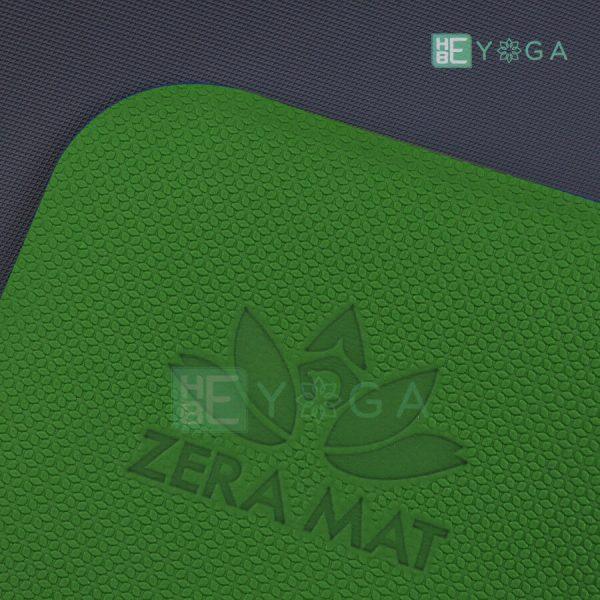 Thảm Yoga TPE ZERA màu xanh lá 4