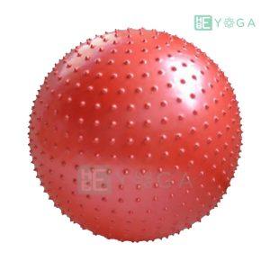Bóng tập Yoga có gai màu đỏ