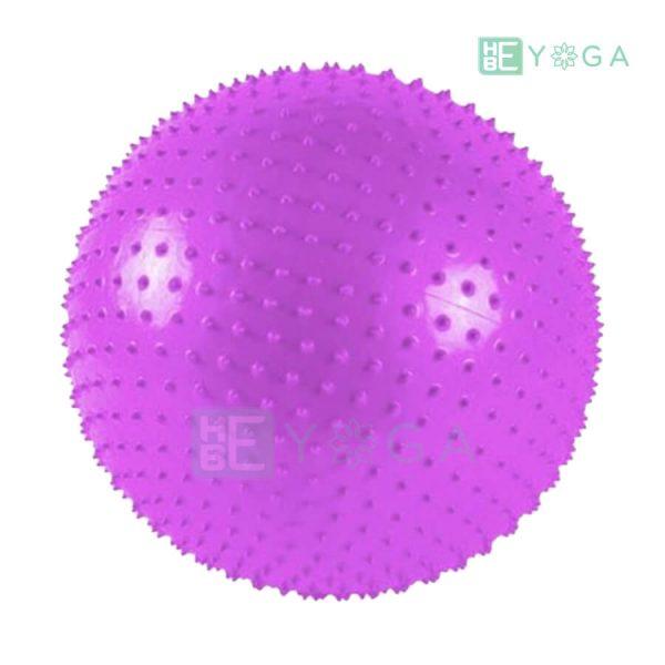 Bóng tập Yoga có gai màu tím