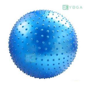 Bóng tập Yoga có gai màu xanh dương