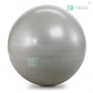 Bóng tập Yoga trơn màu xám