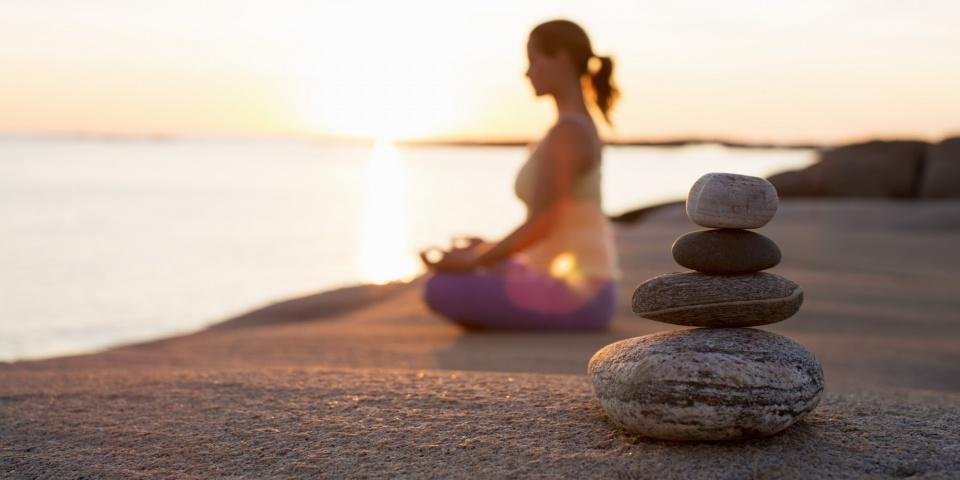 yoga thiền tìm lại sự bình yên