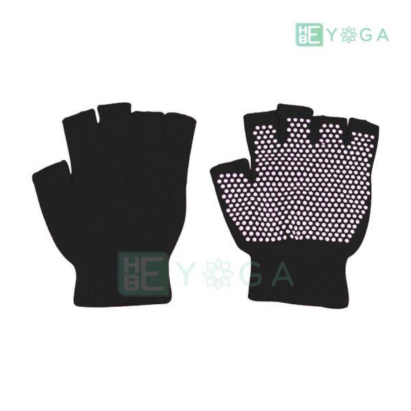 Bao tay tập Yoga chống trượt màu đen