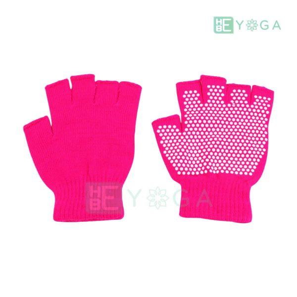 Bao tay tập Yoga chống trượt màu hồng