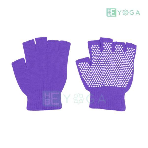 Bao tay tập Yoga chống trượt màu tím