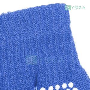 Bao tay tập Yoga chống trượt màu xanh dương 2