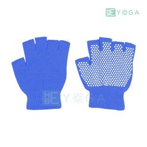 Bao tay tập Yoga chống trượt màu xanh dương