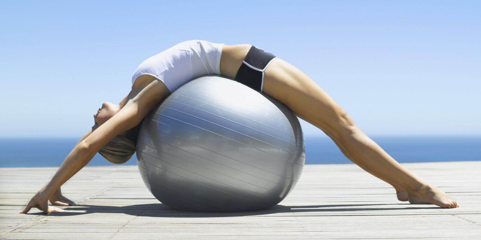 Bóng tập Yoga trơn
