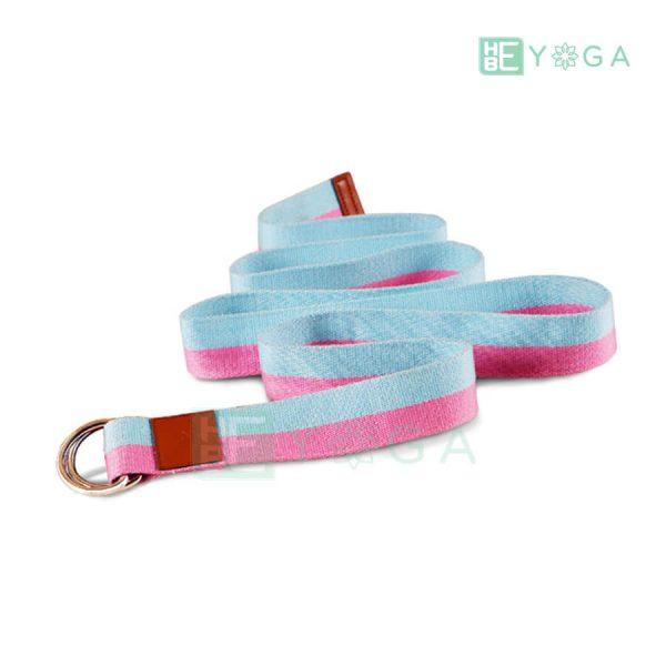 Dây đai tập Yoga FitFound hồng xanh