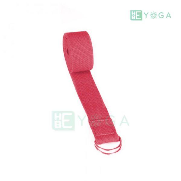 Dây đai tập Yoga màu đỏ