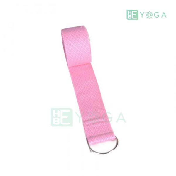 Dây đai tập Yoga màu hồng