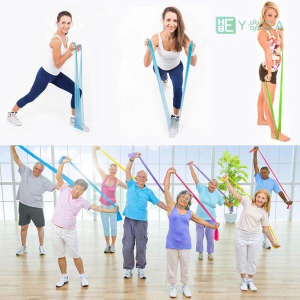 Dây thun tập Yoga 2