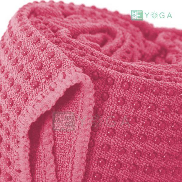 Khăn trải thảm Yoga màu hồng 1