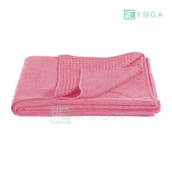 Khăn trải thảm Yoga màu hồng 2