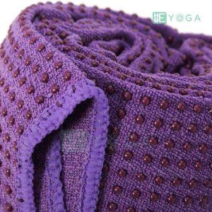 Khăn trải thảm Yoga màu tím 2