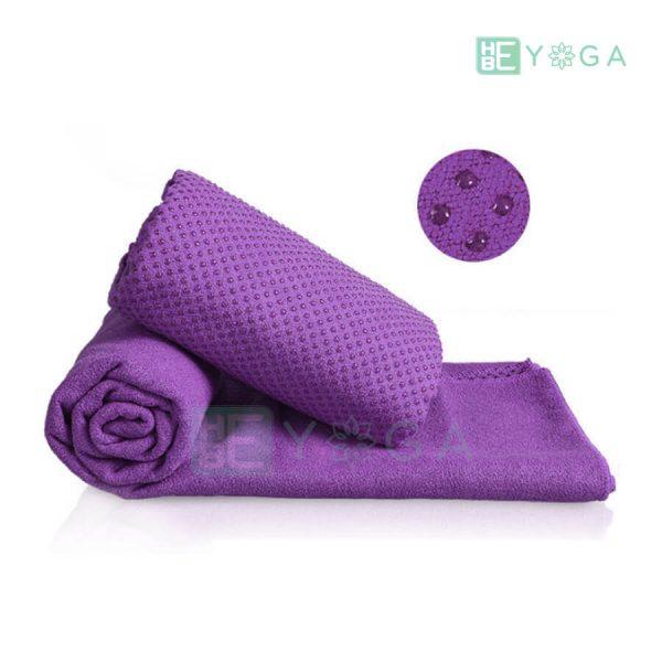 Khăn trải thảm Yoga màu tím