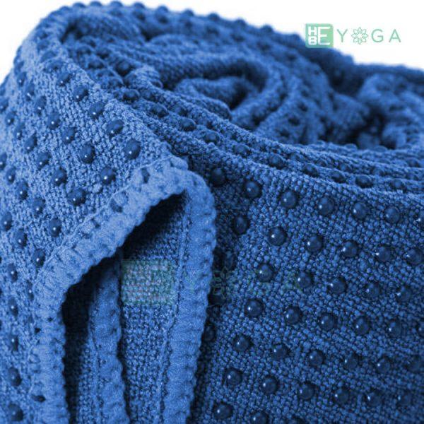 Khăn trải thảm Yoga màu xanh dương 1